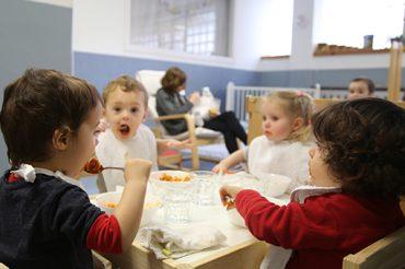 Escuela infantil en Pamplona - Comida