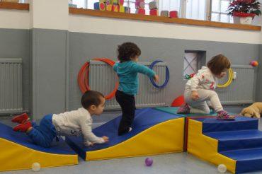 Escuela infantil en Pamplona - Psicomotricidad
