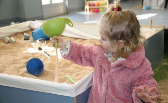 ¿Por qué queríamos la arena en la escuela?
